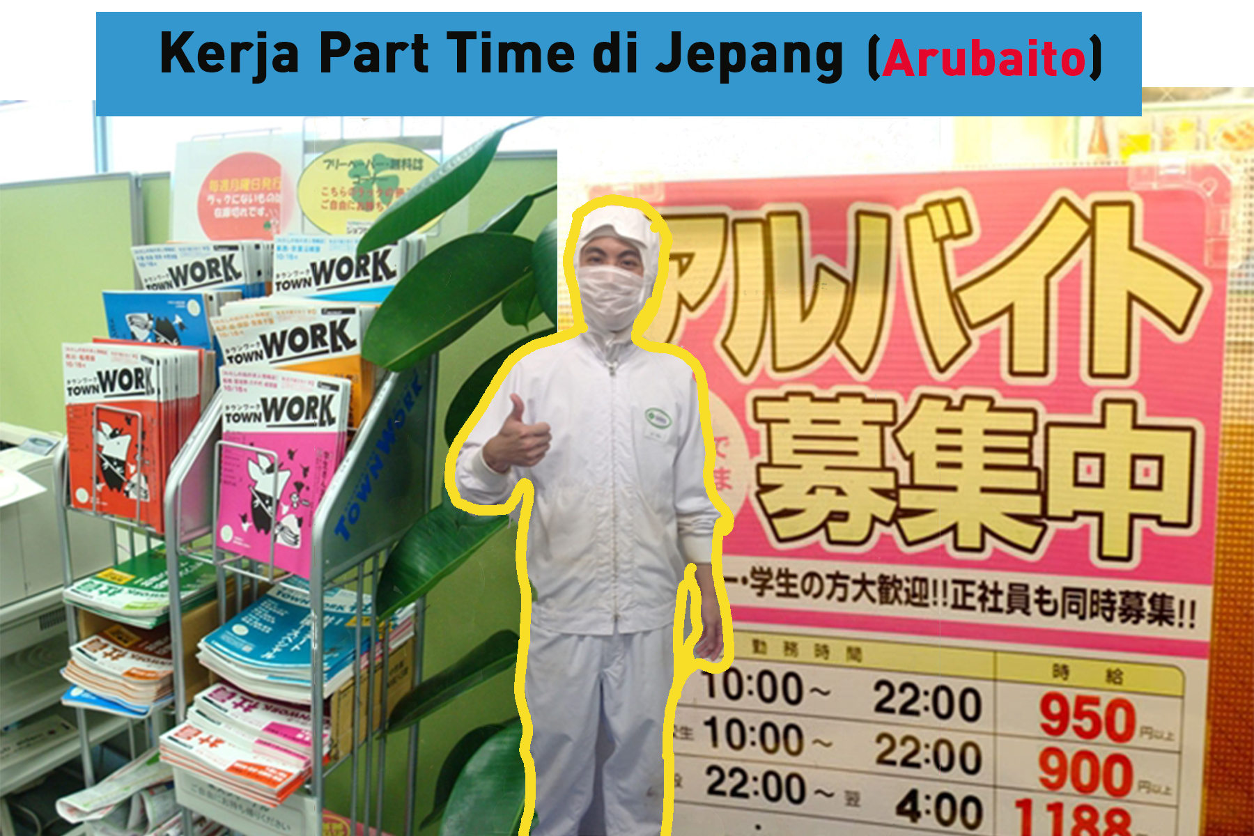 Kerja Part Time di Jepang (Arubaito)