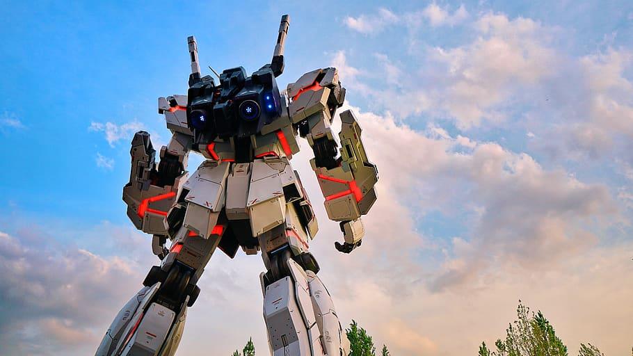 gundam, salah satu produk teknologi budaya ala Jepang