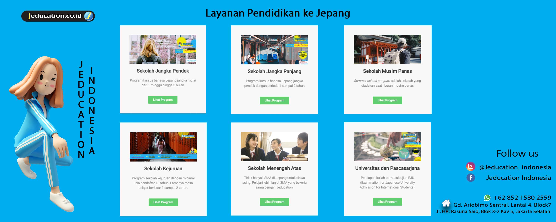 Layanan Pendidikan Jepang di Jeducation